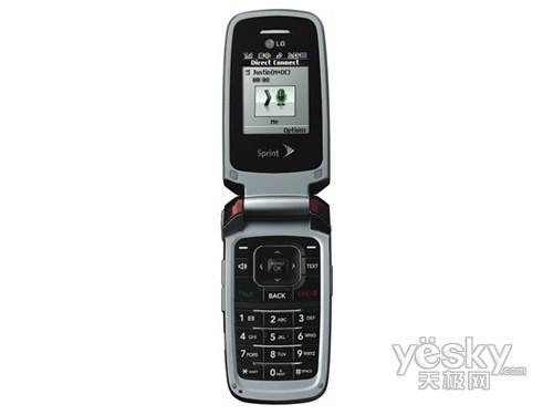LG牵手Sprint推出折叠GPS手机LX400