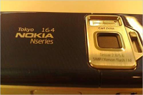 世间绝无重复诺基亚全能N82限量版亮相