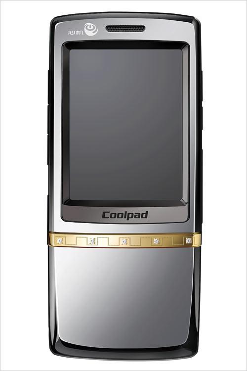 定制奢华酷派联手周大福推出8688手机