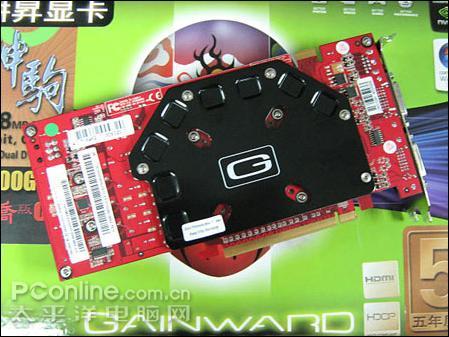 最强性价比市售九款GF9600GSO显卡推荐(2)