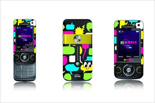 音乐导航能手索尼爱立信W760推出MTV版