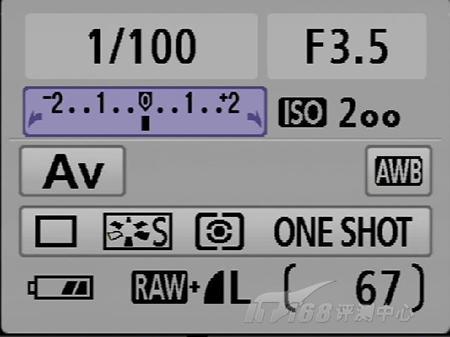 出色入门级单反相机佳能450D详尽评测(5)