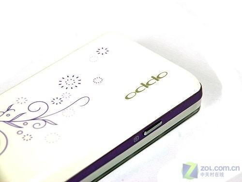 唯美罗兰紫OPPO果冻音乐手机A109评测