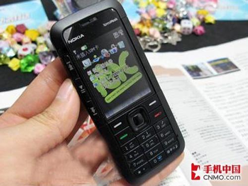 9.9毫米超薄诺基亚5310XM黑色版仅1598