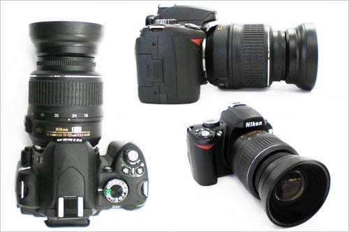 将18-55mm变超广角尼康推出NH-WM75