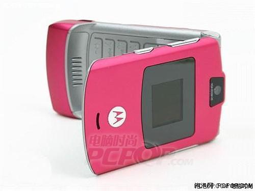 圣诞学生首选摩托V3粉色行货仅售599