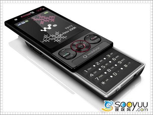沃达丰专供索爱导航音乐手机W715简评