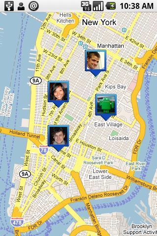 "Google地图推出位置跟踪服务""Latitude"""