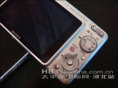 广角数码卡片相机索尼W170售价1800元