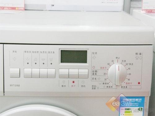 狂降1800元博世心晴系列洗衣机开甩