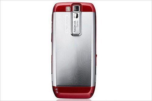 女性商务专用机诺基亚E66推出红色版