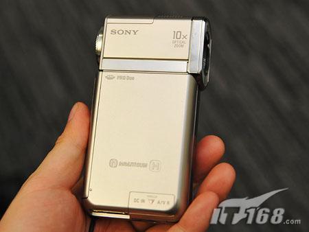内置GPS索尼发布mini闪存机HDR-TG5V