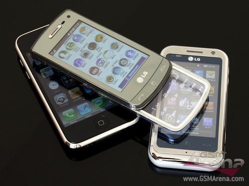 800万像素LG透明滑盖键盘GD900评测(3)