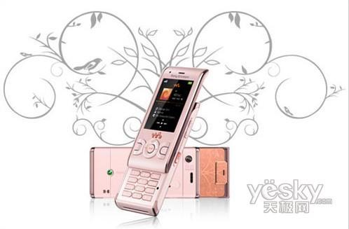 美女最爱六款时尚可爱粉色手机全推荐(3)