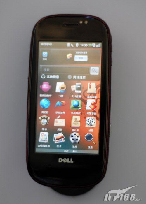 戴尔首款Ophone手机mini3i真机解析