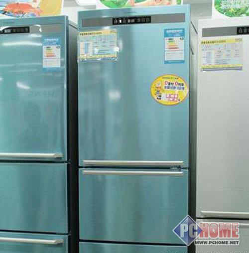 净味鲜锋伊莱克斯三门冰箱降价3976元