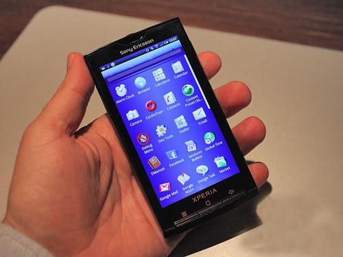 最强智能 索尼爱立信X10发售时间确定