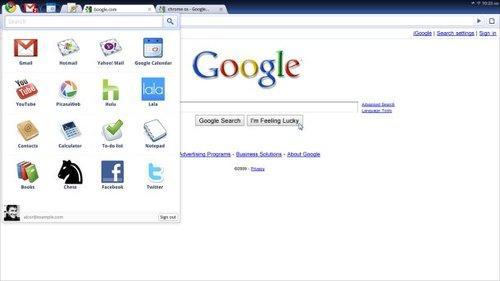 Chrome OS界面