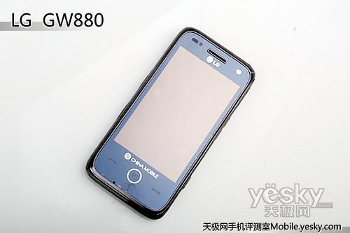 OMS操作系统LG智能TD手机GW880评测