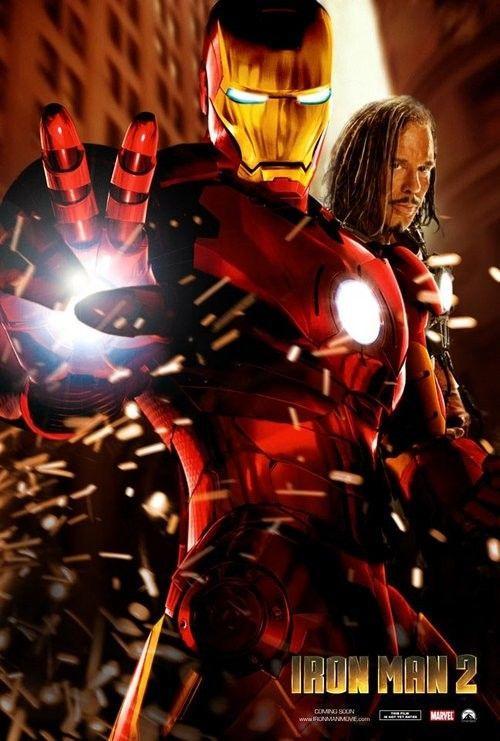 《钢铁侠2》最新高清海报、剧照欣赏