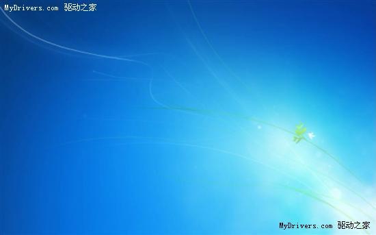 微软披露Win7默认背景 登录界面设计历程图片