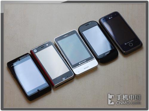 移动TD大手笔 OPhone五虎将年度横评