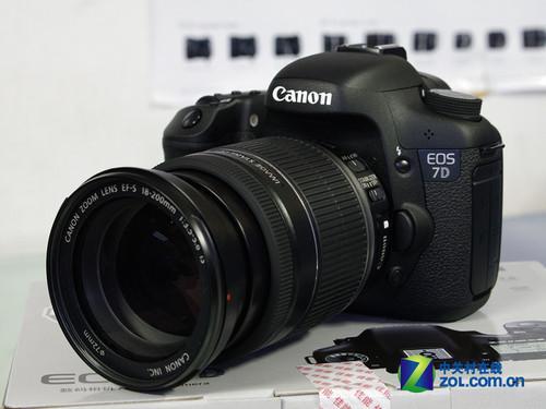 高端家用单反相机佳能7D最新价9299元
