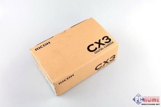 有效像素约1000万卡片理光CX3详细评测