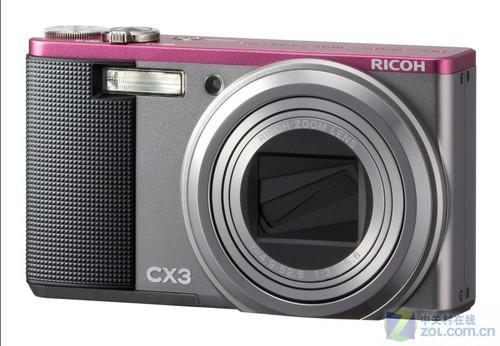 10.7倍光学变焦镜头理光CX3仅售2200元