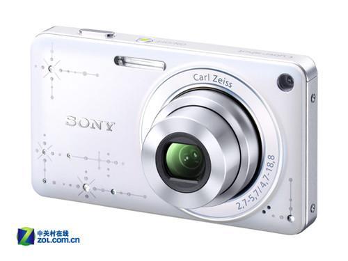 柔美女性专属 索尼时尚相机W350D到货