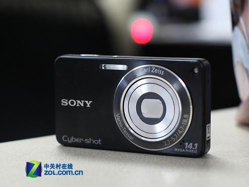 4倍光学变焦镜头索尼W350最新价1680元