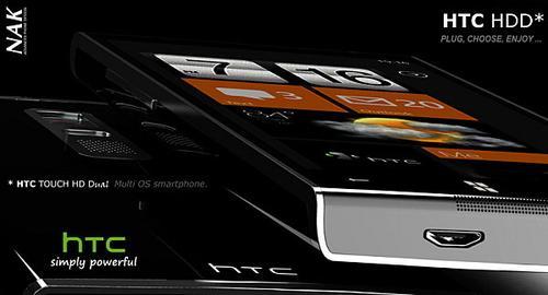 续写Touch HD传奇 HTC HDD设计图曝光