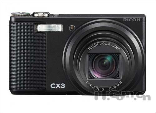 10.7倍光学变焦镜头理光CX3售价2099元