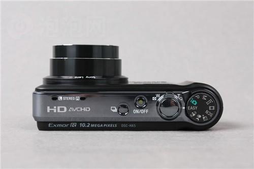 背照式CMOS小长焦索尼HX5C仅售1899元