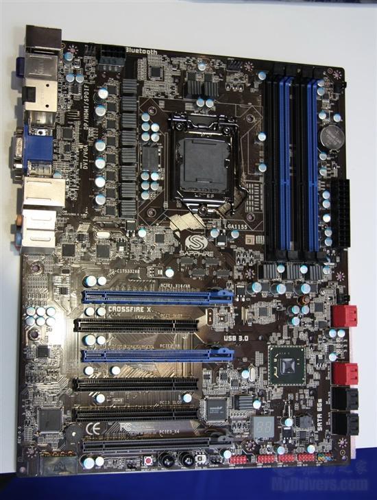 再接再厉 蓝宝展示Z68 H61主板