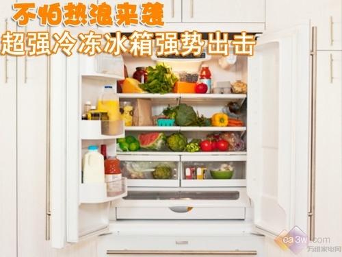 不怕热浪来袭 超强冷冻冰箱强势出击