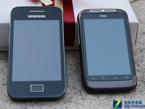 平民级安卓机三星S5830/HTCA510e对比