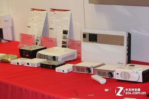 CES2012 DLP微投亮相