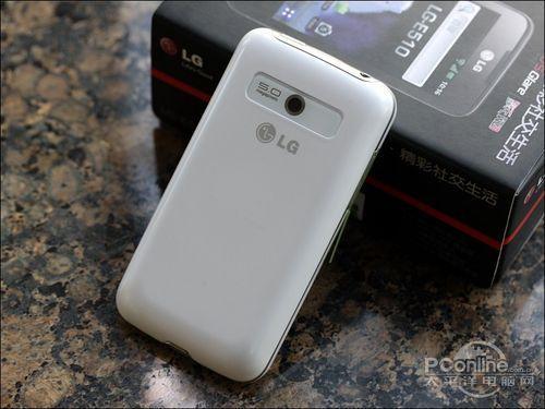 3.5寸屏时尚智能王子白色LGE510评测