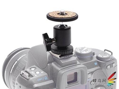叠加附件 可上相机热靴的微型云台发布