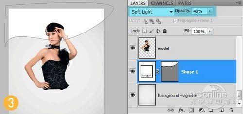 PS翻译教程:Photoshop打造时尚封面设计