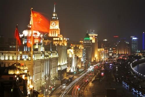 携尼康V1\/J1出行 记录上海外滩的美景_数码