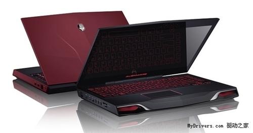 戴尔发布三款Alienware高端笔记本电脑