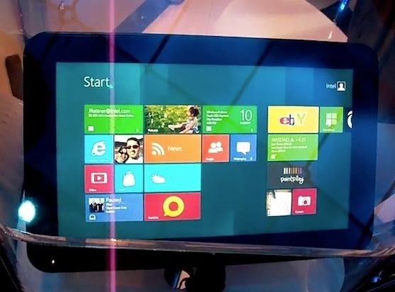 消息称英特尔Windows8平板电脑将于11月上架