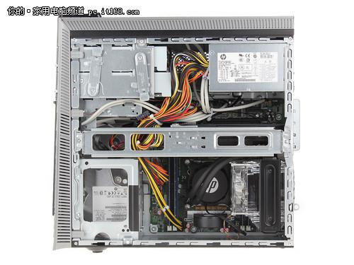 惠普[HP]H9游戏台式机接口和内部细节