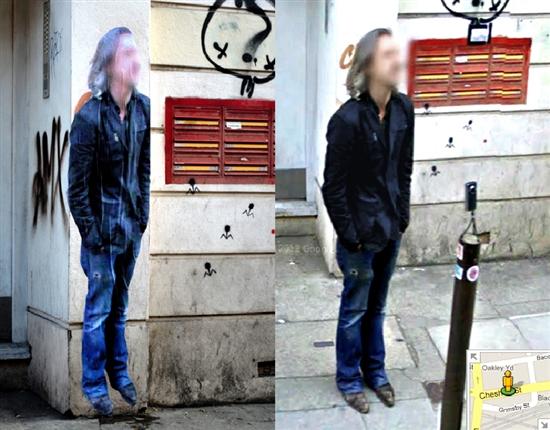 那些生活在Google街景中的人