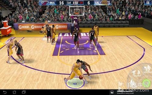 最强篮球游戏 NBA 2K13 Android版试玩_手机