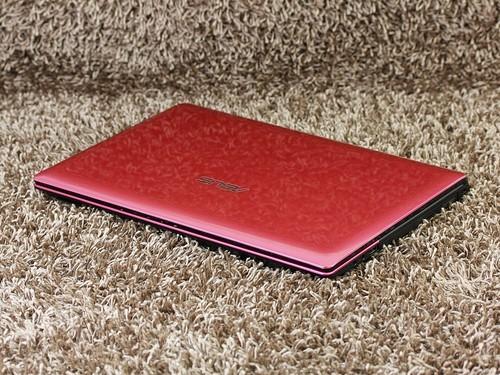 华硕 A45粉色 外观图
