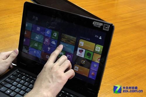 脖子向后拧 ThinkPad Twist平板本首测