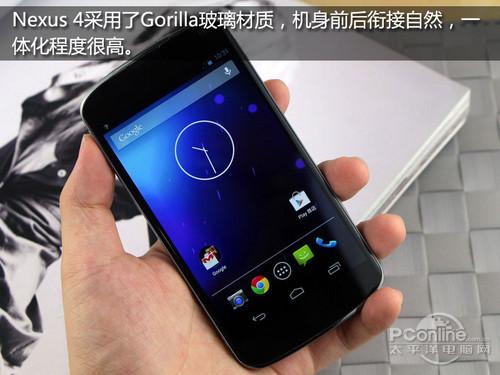 2GB內存安卓4.2谷歌四子Nexus4評測